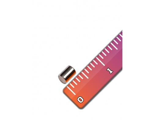 Неодимовый магнит 3х4 мм
