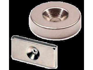 Неодимовый магнит с зенковкой
