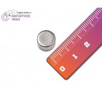 Неодимовый магнит 10х6 мм