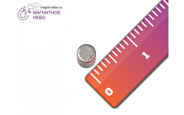 Неодимовый магнит 3х1 мм