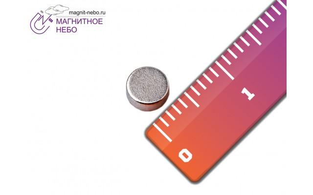 Неодимовый магнит 5х2 мм