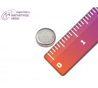 Неодимовый магнит 6х1 мм