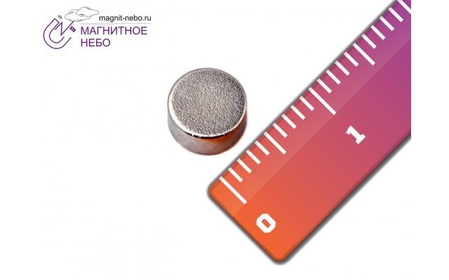 Неодимовый магнит 6х3 мм