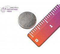 Неодимовый магнит 8х2 мм