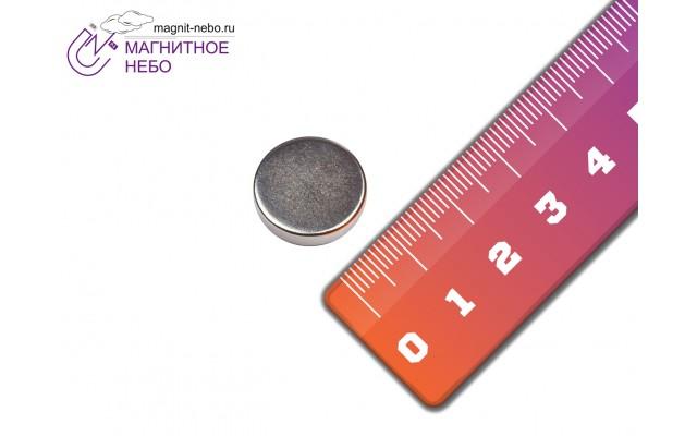 Неодимовый магнит 14х3 мм