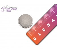 Неодимовый магнит 20х3 мм