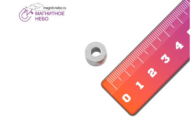 Неодимовый магнит кольцо 12.5х5.5х7.5 мм
