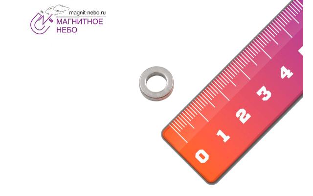 Неодимовый магнит кольцо 12х7х3.5 мм