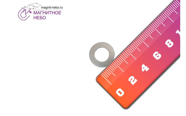 Неодимовый магнит кольцо 30х16х2 мм