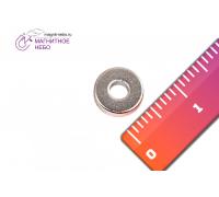 Неодимовый магнит кольцо 8х3х2 мм