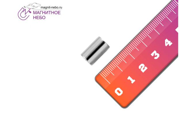 Неодимовый магнит кольцо 9х5х15 мм