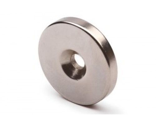 Неодимовый диск с зенковкой 20/4 х 7\4мм