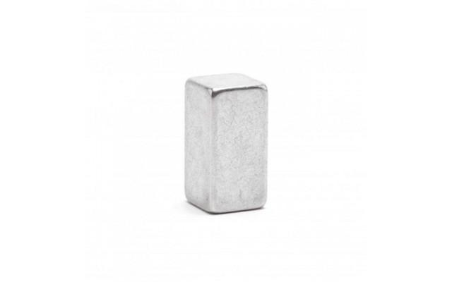 Неодимовый магнит прямоугольник 10х10х20 мм