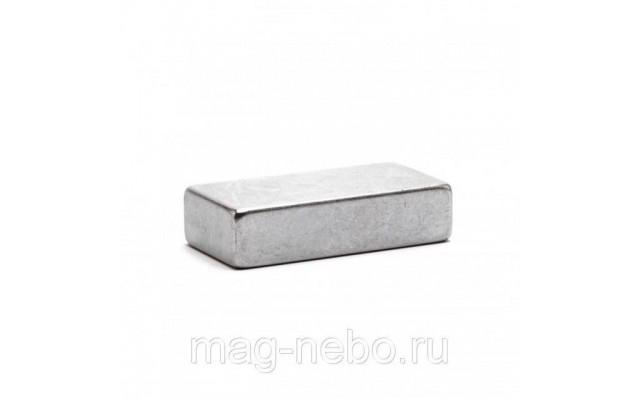 Неодимовый магнит прямоугольник 40х20х10 мм