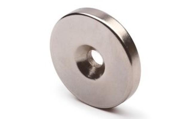 Магнитный диск с зенковкой 25/3 х 7,5\4,5мм