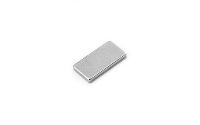 Неодимовый магнит прямоугольник 20х5х2 мм