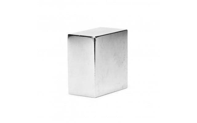 Неодимовый магнит прямоугольник 65х65х35 мм