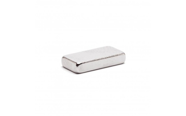 Неодимовый магнит прямоугольник 10х3х2 мм
