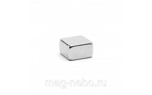 Неодимовый магнит прямоугольник 5х5х3 мм