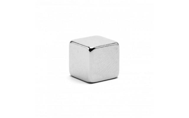 Неодимовый магнит куб 10х10х10 мм