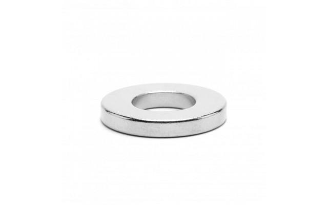 Неодимовый магнит кольцо 20x10x3 мм