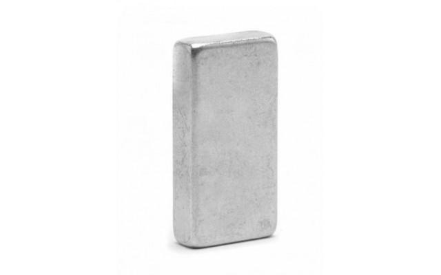 Неодимовый магнит прямоугольник 15х6х30 мм